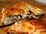The finished mushroom pasty article...
